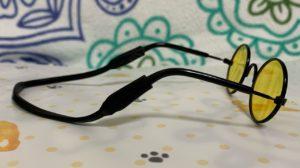 ダイソーメガネの側面写真