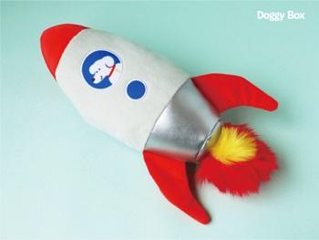ドギーボックス(Doggy Box)8月号の中型・大型犬用のおもちゃ