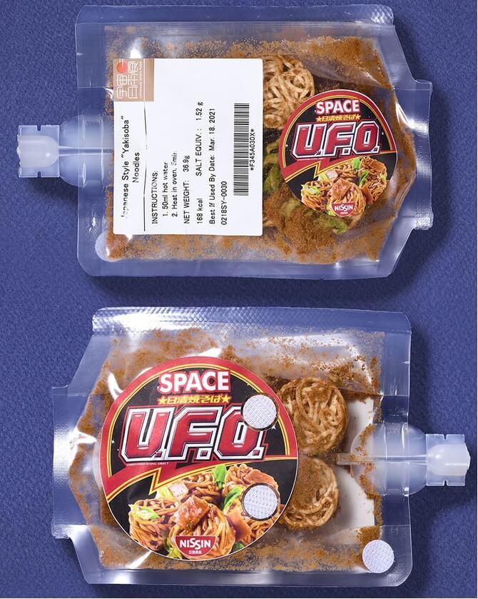 日清食品の宇宙食!スペース日清焼そばU.F.O.