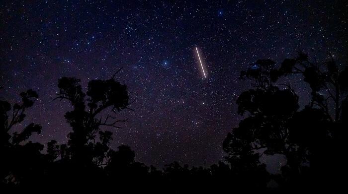 ふたご座流星群2020イメージ写真パート2