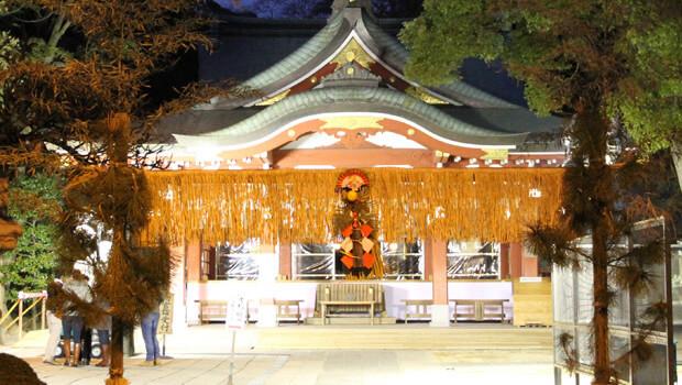 【埼玉県初詣】参拝者数ランキング7位『久伊豆神社』
