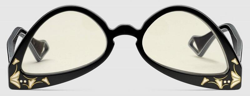 Gucci(グッチ)の新作『逆キャットアイサングラス(Inverted cat eye sunglasses)』