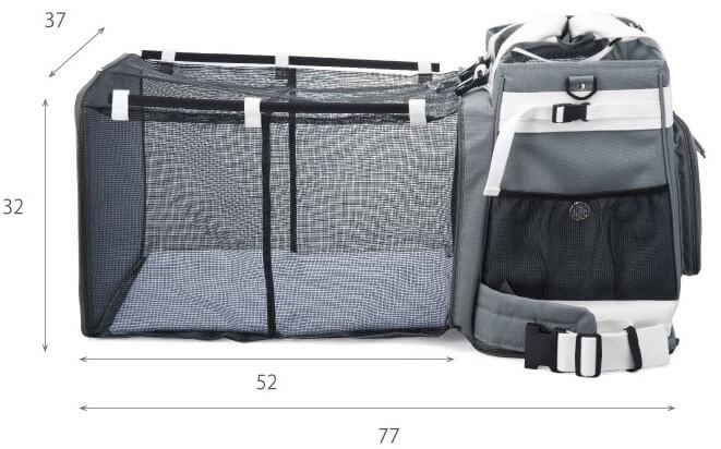 犬・猫の災害時用キャリーバッグ|避難用ケージのサイズ