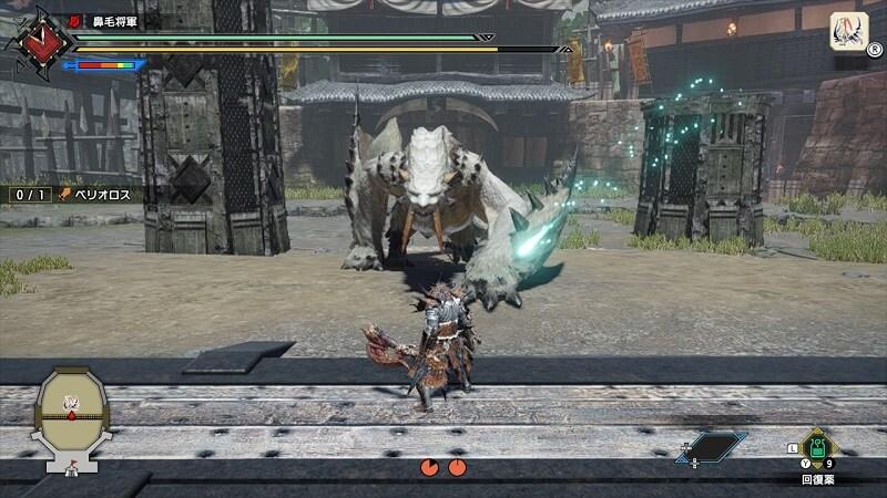 闘技場ベリオロス攻略|おすすめ武器は片手剣