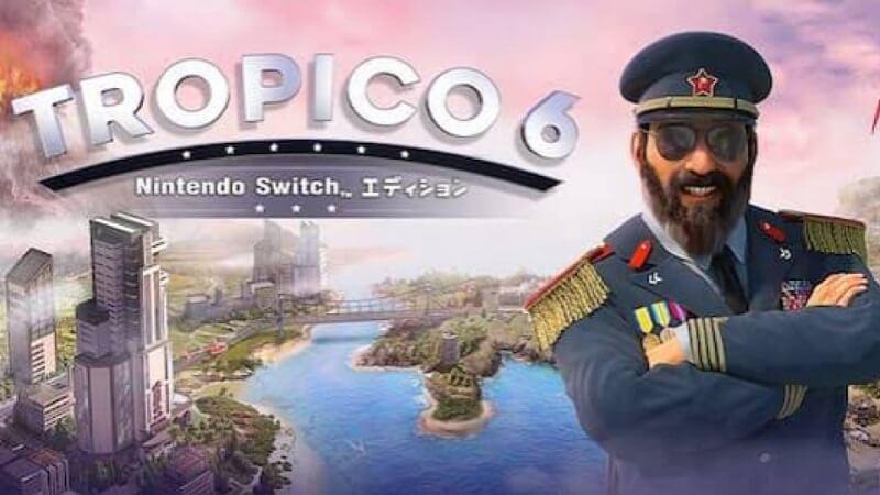 【ニンテンドースイッチ】おすすめのゲームソフト『トロピコ6』